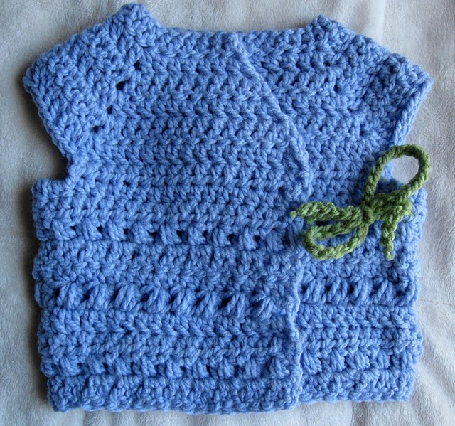 Crochet Every Day: Giveaway Week: Day 3 - Kimono Pattern from ...