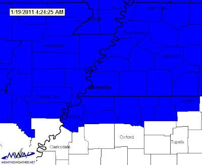 Winter Weather Advisory, January 20, 2011