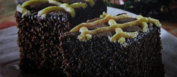 Cake Cokelat Bertoping