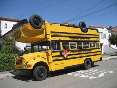 Topsy-Turvy Bus