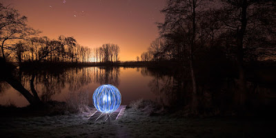 mind blowing light graffiti photography