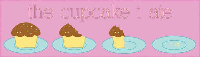 the cupcake i ate