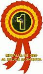 """Premio """" Medalla de oro al mejor alonsista"""""""