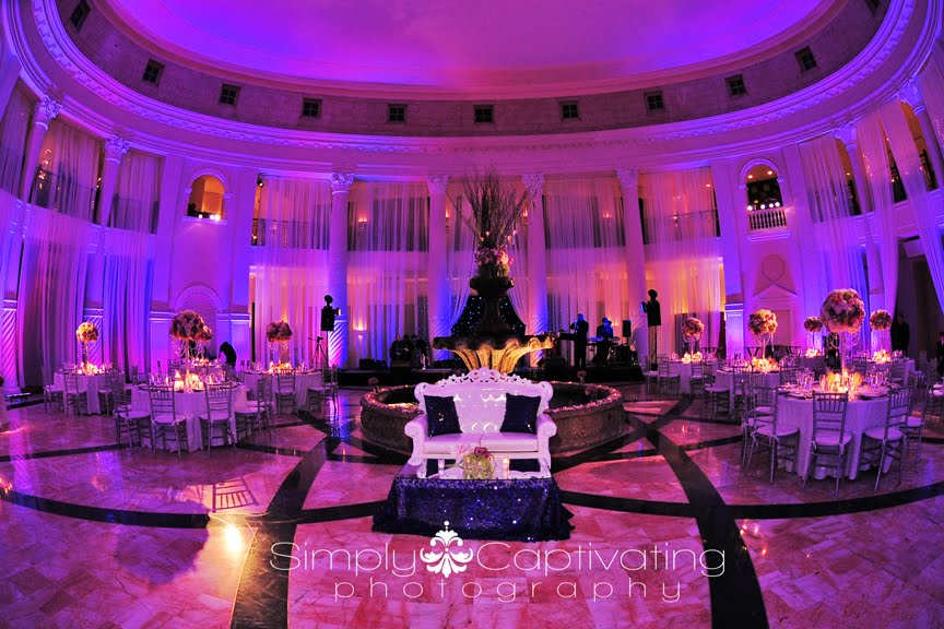 Jennifer J Events: Maureen and Diego's Fabulous Bling Wedding