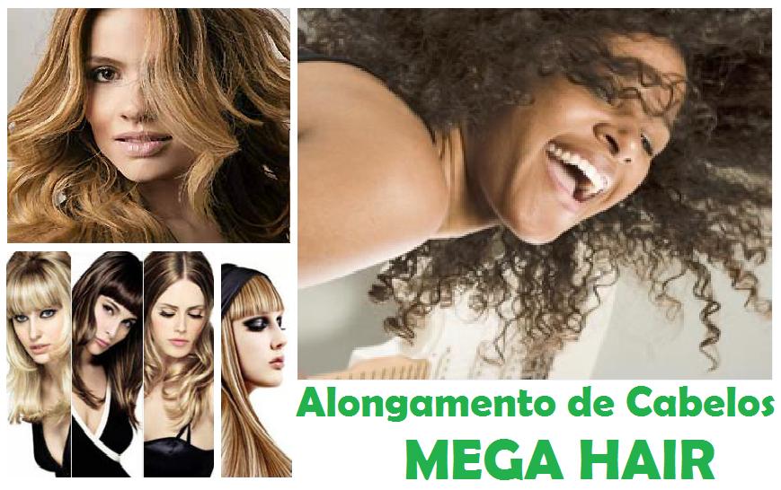 Alongamento de Cabelos - MEGA HAIR
