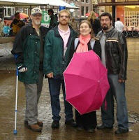 Me, Peter, Pauliina, Kevin, Utrecht.