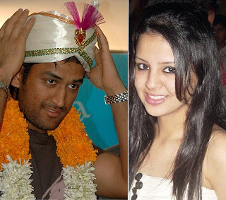 MS Dhoni marriage and reception photos