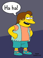 Nelson Muntz, brevity in social commentary