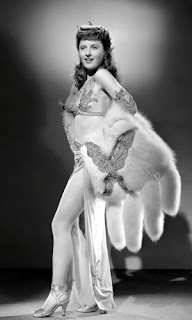 Barbara Stanwyck in 'Lady of Burlesque'(1943)