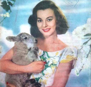 Anne Heywood wasn't sure if this is the pagan holiday with the lamb or the goat.