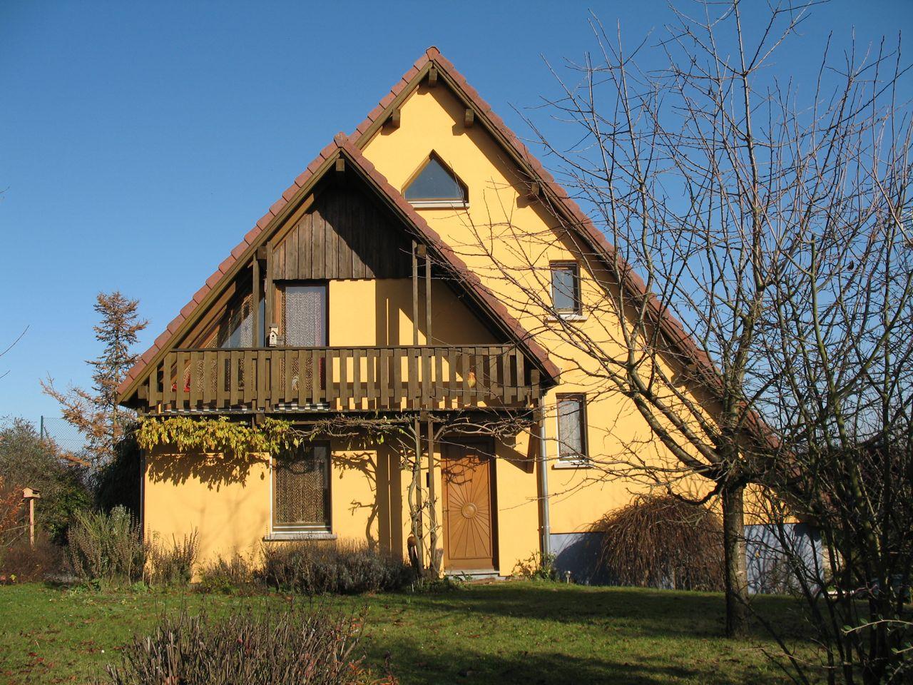 Vente maison cologique - Maison ecologique architecte vetsche ...