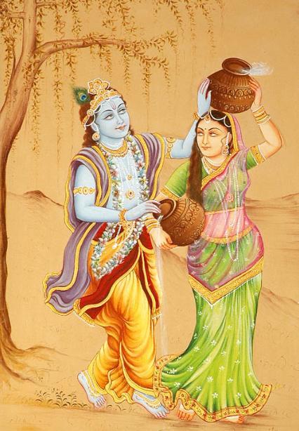 Animation Free Hd Wallpaper Radha Krishna Animated Wallpaper