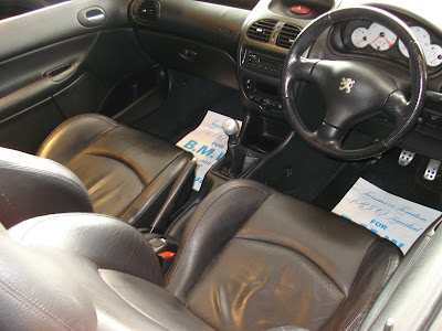 Peugeot Coupe interior