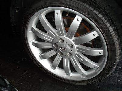 Range Rover V8 wheels