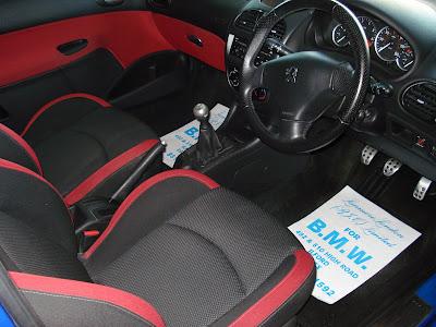 Peugeot 206 Sport interior
