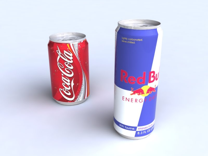 Portfolio 3d Coca Cola Amp Red Bull
