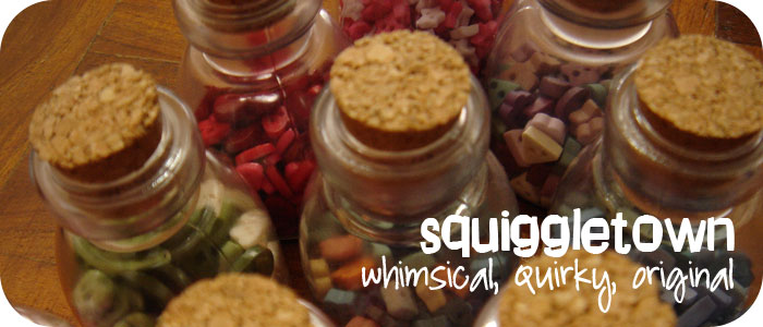 SQUIGGLETOWN - whimsical, quirky, original (formerly butterfleric)