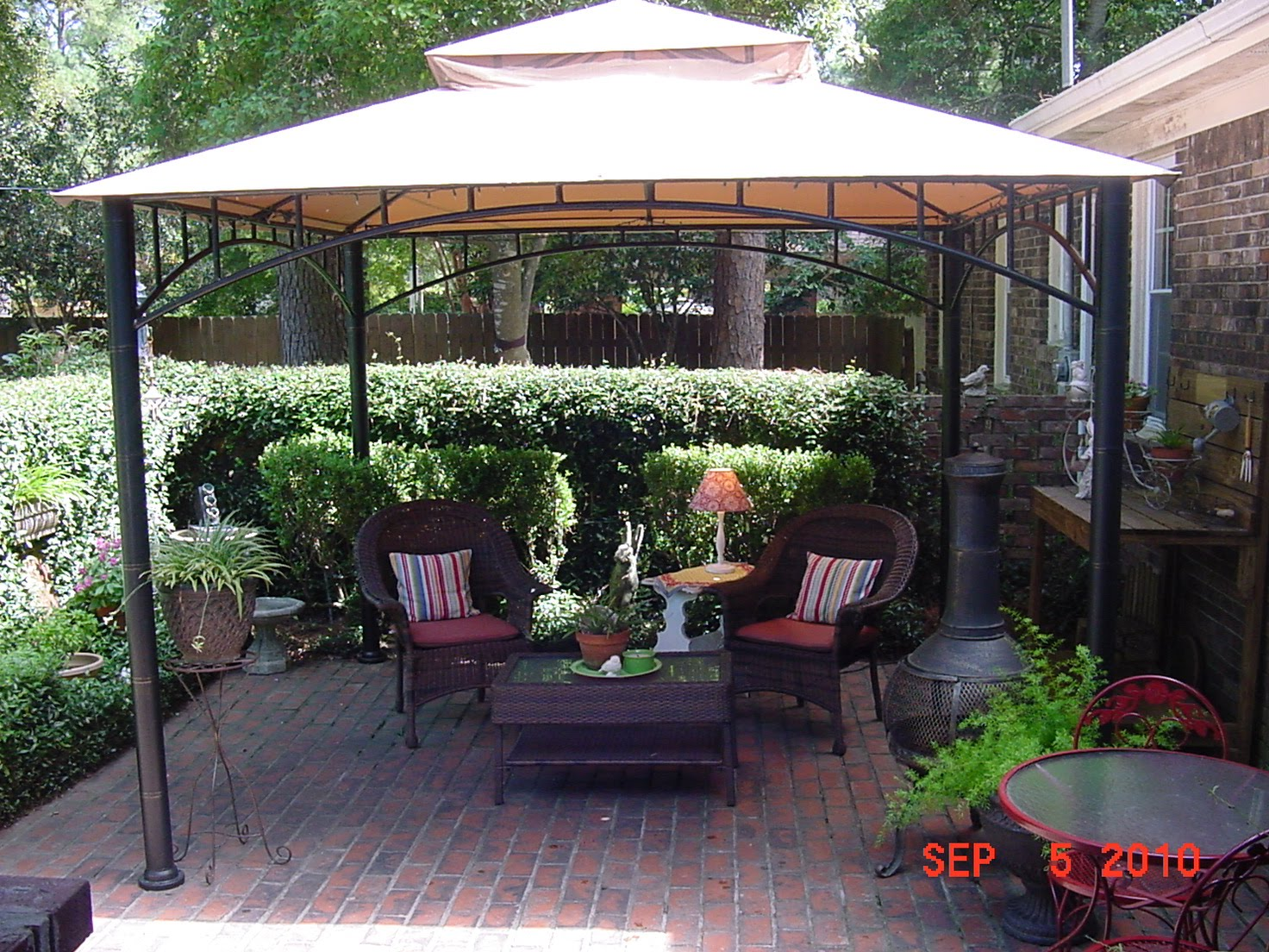 The Happy Homebody: My Patio Canopy