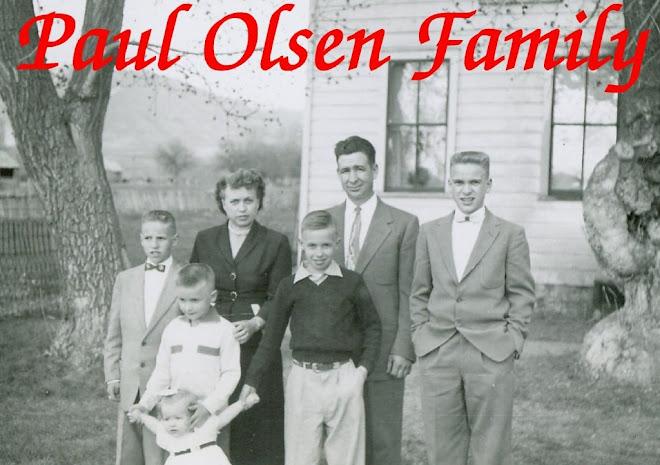 Paul Olsen Family
