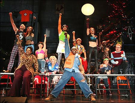 rent the musical set. RENT - The Musical - My Take
