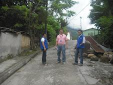 Visita del Coordinador Local  SERGIO ALIRIO MATAMOROS a los Cogestores Sociales ARBOLEDAS