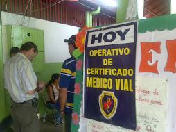 Abordaje Social Plaza Bolivar obtencion de Carta Medica