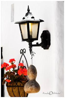 Lampione con zucca