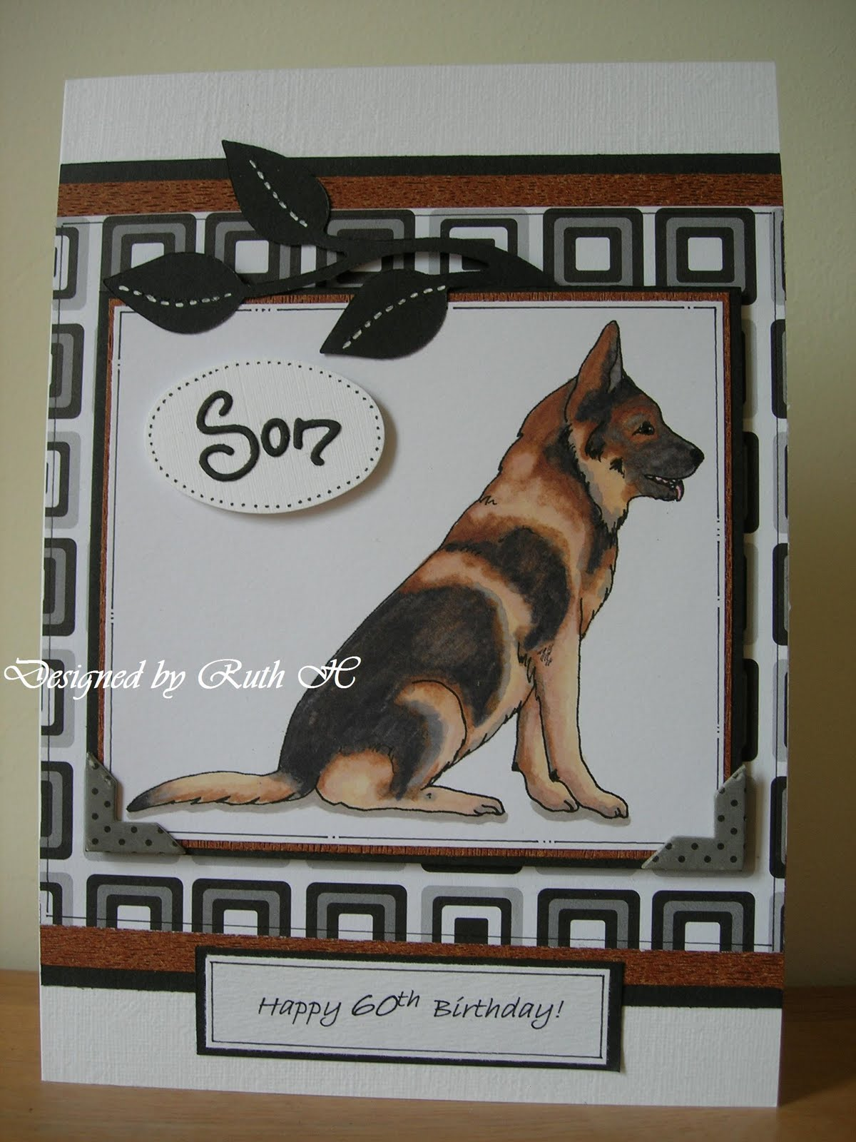 A Passion For Cards German Shepherd