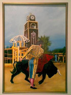 Hermoso cuadro pintado por Erwin García, artista Valenciano