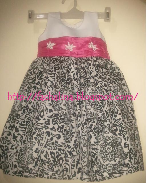 Patrón gratis de vestido de fiesta para niña de dos años