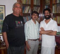 प्रमोद, संजय और अभय