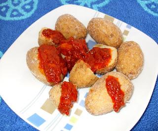 patate con mojo rosso