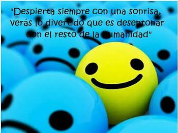 Despierta siempre con una sonrisa...