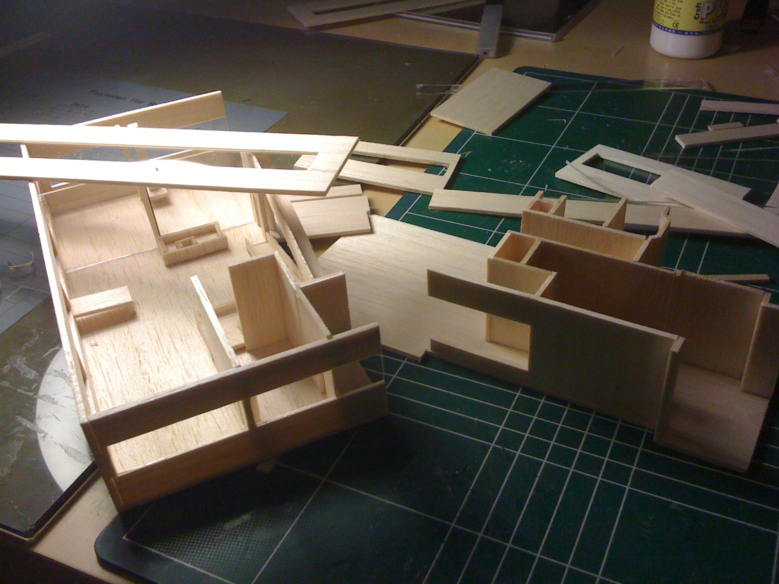 balsa wood architecture