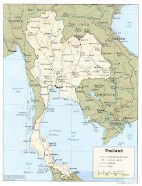 Ubicación Geográfica de Tailandia