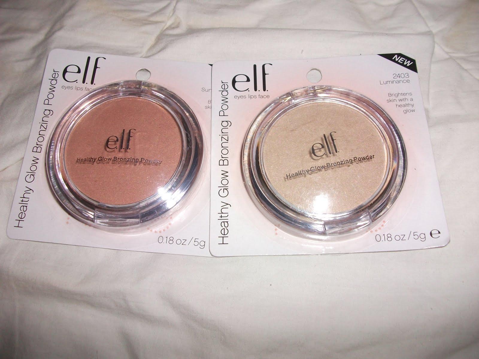 e.l.f. Cosmetics Healthy Glow Bronzing Powder -- Sunkissed ...