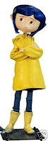 Coraline in Raincoat Doll