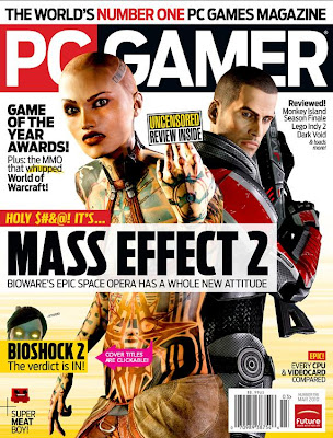 Download Revista PC Gamer - Março 2010  World of Warcraft: Sacking Stratholme Mass Effect 2 Review Game of the Year Awards Bioshock 2...