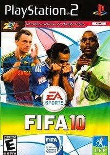 Baixar FIFA 2010 (Português) ps2 FIFA 10 é o mais recente capítulo da franquia de simuladores de futebol da Electronic Arts.