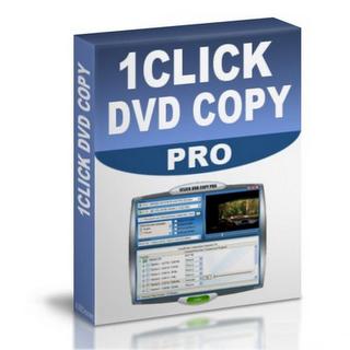 1CLICK DVD Copy Pro 4.0.9.0 1Click DVD Copy Pro - o mais simples e rápido programa para copiar DVD. Devido interface intuitiva é facil para os utilizadores novatos, e avançado.