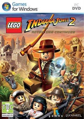 """Lego Indiana Jones 2 - The Adventure Continues Apesar de ser """"mais um jogo da franquia LEGO"""", o novo Indiana Jones está muito renovado, trazendo uma série de novidades interessantíssimas para a franquia."""