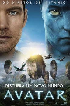 No épico de ação e aventura AVATAR, James Cameron, diretor de Titanic, nos leva a um mundo espetacular, além da nossa imaginação.