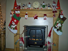 My Fireplace At Christmas Time