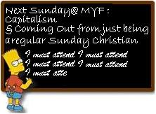 MYF Bulletin Blackboard