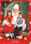 Maiyume and Keenan Christmas 2010