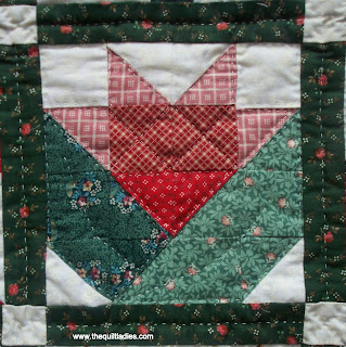 quilt pattern made into a quilt
