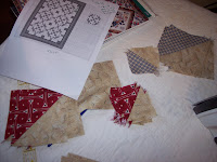 Little Boy's First Quilt, star quilt pattern
