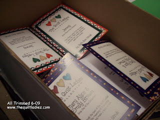 Done Printing The Quilt Ladies Book Collection