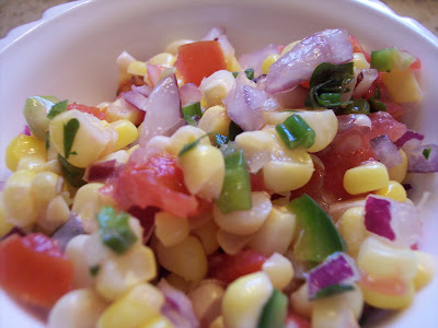Corn Salsa Recipe from The Quilt Ladies