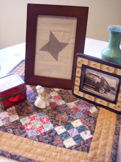 making a friendship star quilt